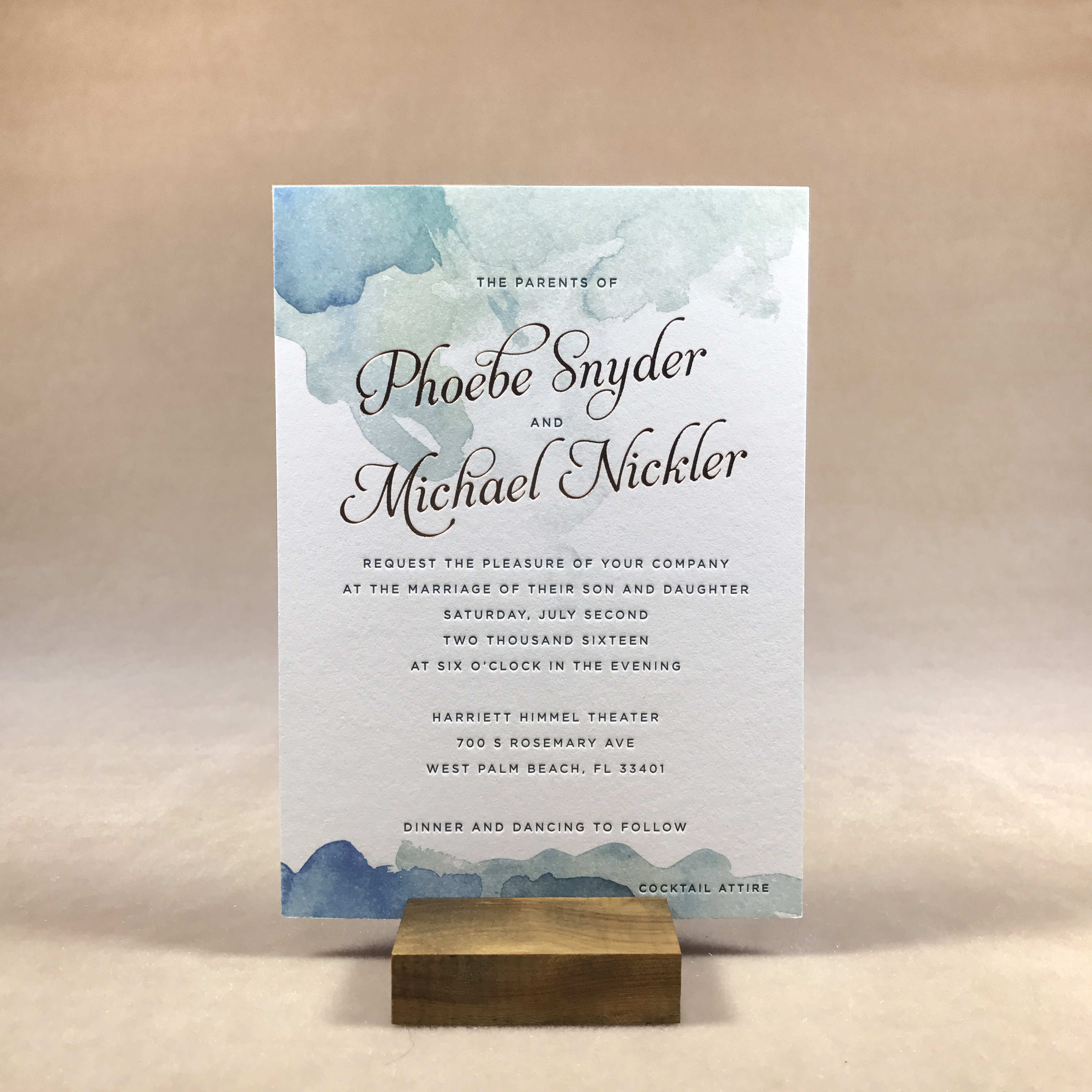 Able Invitations & Stationery - West Beach Florida